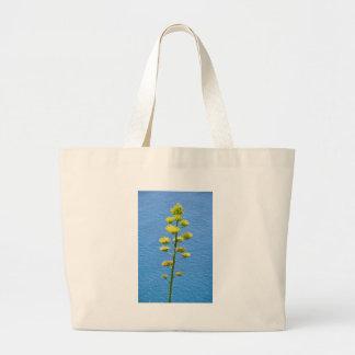 Inflorescencia de la planta del agavo bolsa