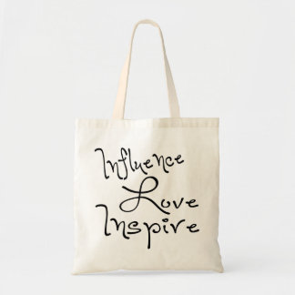 Influence Love Inspire Tote Bag