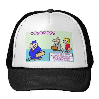 influence peddling congress mesh hat
