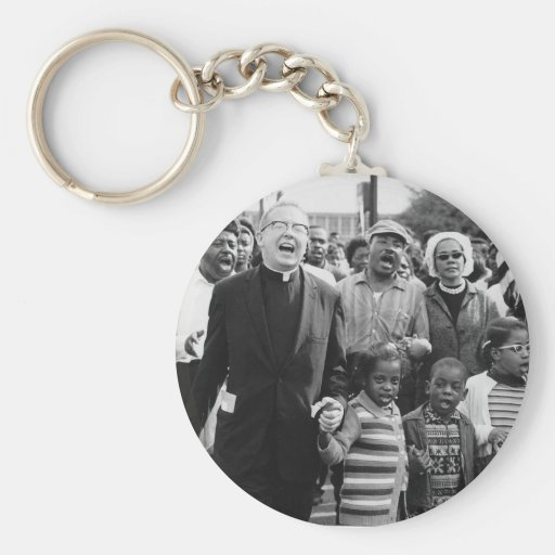 Influencial People of the 60's Basic Round Button Keychain