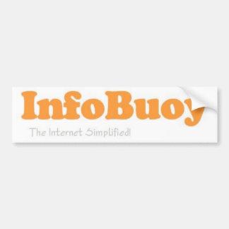 Infobuoy StickerI Pegatina De Parachoque