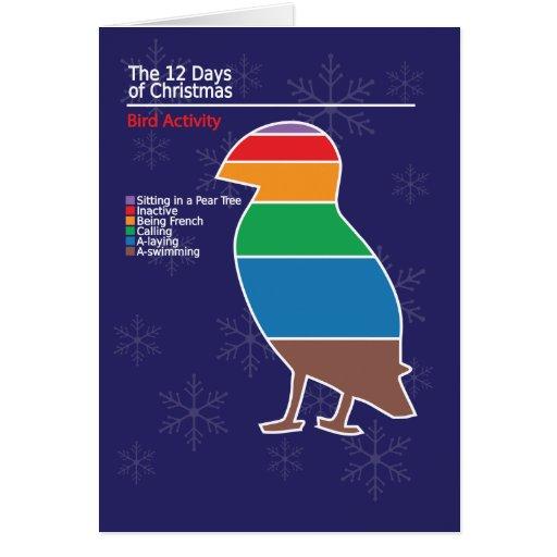 Infographic Christmas Card 1