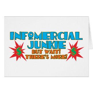 Infomercial Junkie Card