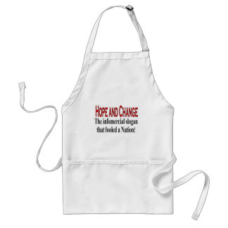 Infomercial slogan adult apron