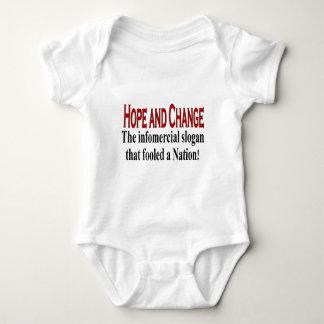 Infomercial slogan baby bodysuit