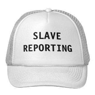 Información auxiliar del gorra