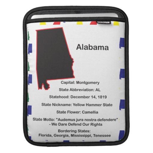 Información de Alabama educativa Mangas De iPad