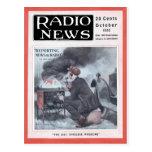 Información por la radio tarjetas postales