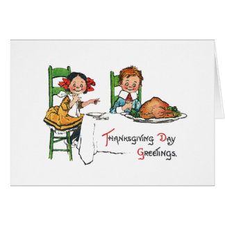 Informal Thanksgiving Invite Card