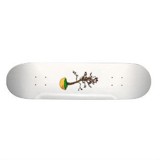 Informal Upright, cherry type bonsai graphic Skateboard Deck