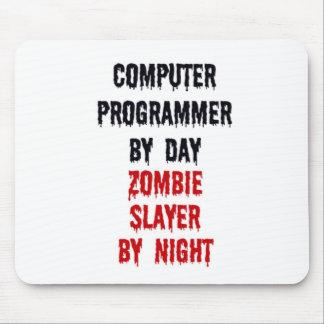 Informático del asesino del zombi del día por noch alfombrillas de ratón