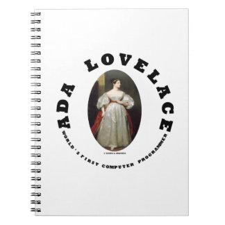 Informático del mundo de Ada Lovelace primer Cuaderno