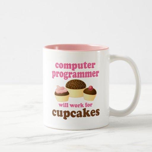 Informático divertido taza de dos tonos