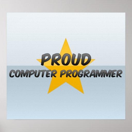 Informático orgulloso posters