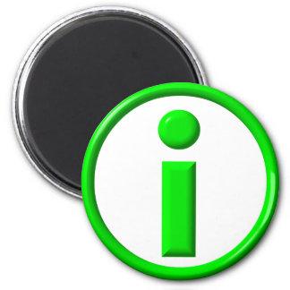 Information 2 Inch Round Magnet