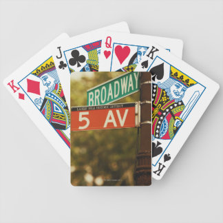 Information Board 2 Bicycle Playing Cards