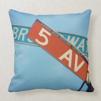 Information Board Throw Pillow