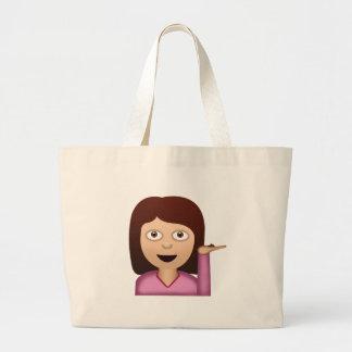 Information Desk Person Emoji Bags