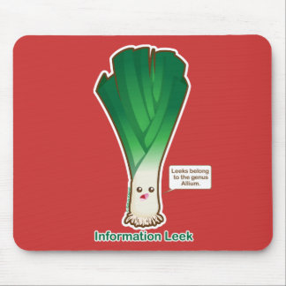 Information Leek Mouse Pad