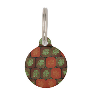 Information puzzle pet ID tag