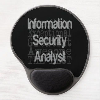 Information Security Analyst Extraordinaire Gel Mouse Pad