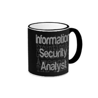 Information Security Analyst Extraordinaire Ringer Mug