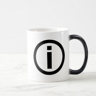Information Symbol - Tourism Magic Mug