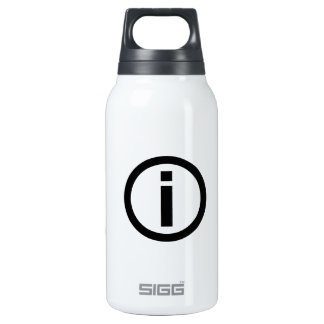 Information Symbol - Tourism Thermos Water Bottle