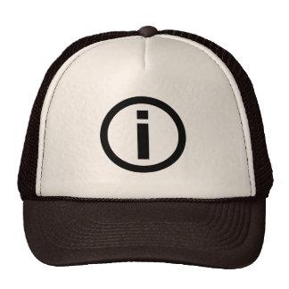 Information Symbol - Tourism Trucker Hat
