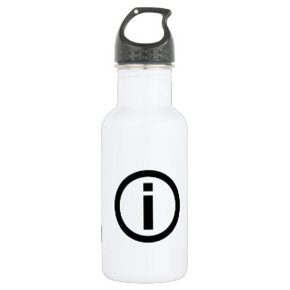 Information Symbol - Tourism Water Bottle