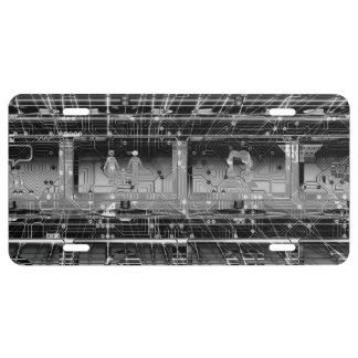 Information Tech License Plate
