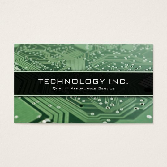 Information Technology (IT) Services Business Card   Zazzle.com