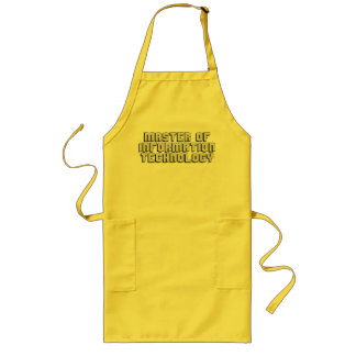 Information Technology Long Apron