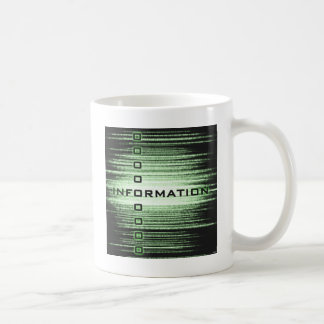 Information Text Design Coffee Mugs