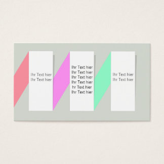 informatively business card