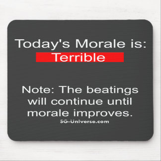Informe Mousepad de la moral Tapete De Raton