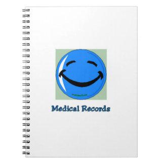 Informes médicos del HF del hospital Libro De Apuntes