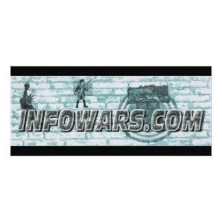 Infowars Bookmark Rack Card