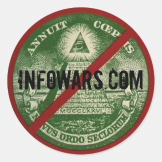 INFOWARS.com Sticker