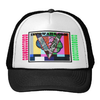 INFOWARS.COM- V for victory- TV is mind control Trucker Hat