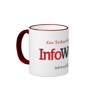 InfoWorld logo cup Ringer Coffee Mug