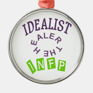 INFP Idealist Personality Metal Ornament
