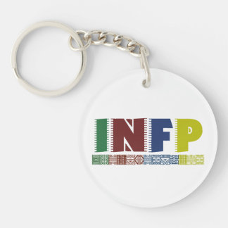 INFP Logo - Myers-Briggs Typology Keychain