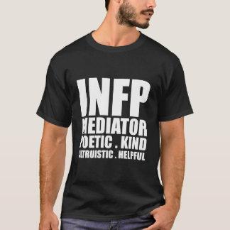 INFP Mediator Introvert T Shirt Black
