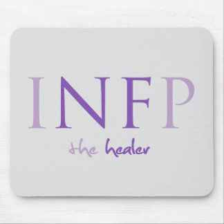 INFP - the healer Myers-Briggs Mousepad