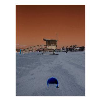 Infra Red Beach Postcard
