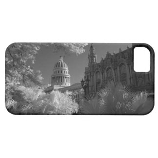 Infra red of Capitol building dome in Havana iPhone SE/5/5s Case