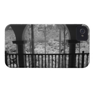 Infra red of trees buildings and trails in Las 3 Case-Mate iPhone 4 Case