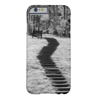Infra red of trees buildings and trails in Las Barely There iPhone 6 Case