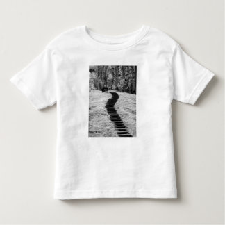 Infra red of trees buildings and trails in Las Toddler T-shirt